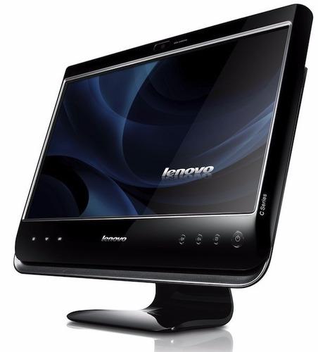 lenovo all in one c200 reacondicionada/teclado y mouse inal.
