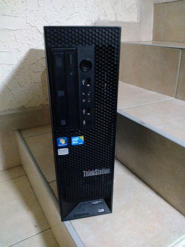 lenovo c20 workstation desktop doble xeon quad core 2tb