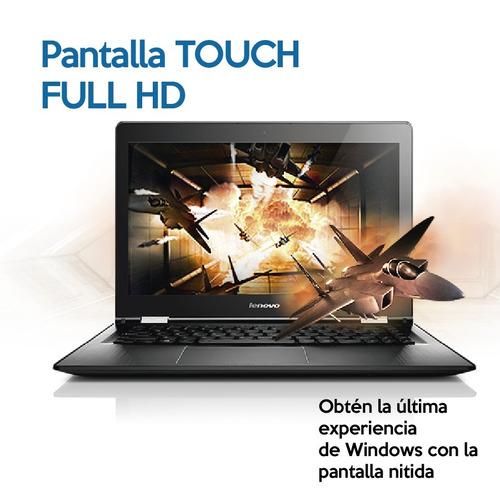 lenovo flex  touch 15'' intel i5 8gb ram 1tb + 12 cuotas