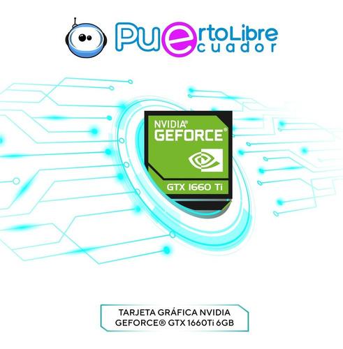 lenovo gamer intel core i7 16gb 1tb + 512 ssd + t nvidia 6gb