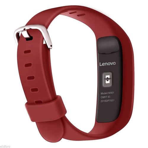 lenovo hw-01 smart wristband oled sellada envio gratis roja