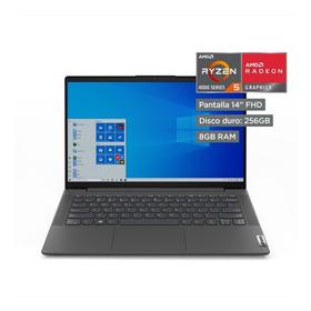 Lenovo Laptop 14  Amd Ryzen 5 4500u 8gb 256gb Ssd Ideapad 5