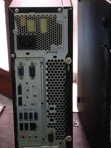 lenovo m93p series i5 4570 8gb ssd240 suporta 3 telas juntas