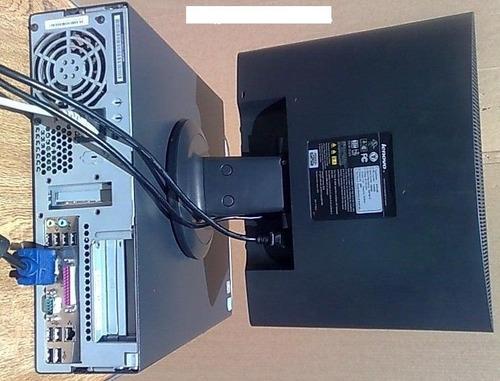 lenovo pentium d dual 2.8 ghz, 2 gigas hd80 monitor 15 tec m