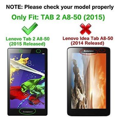 lenovo tab caso 2 a8 - hotcool ultra delgado ligero smartcov