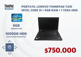 Lenovo Thinkpad Intel Core I5