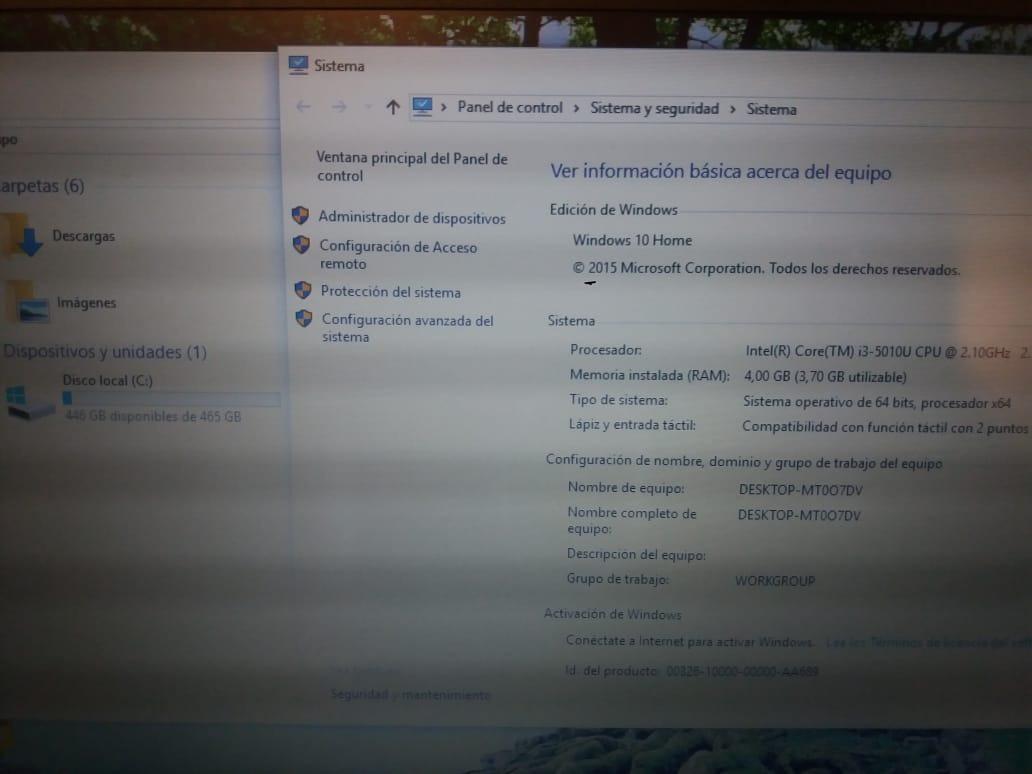 Lenovo Thinkpad T450 Core I3 De 5ta Como Nuevo - $ 140 000