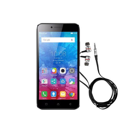 lenovo vibe k5 audífonos jbl + case + protector 16gb 4g lte