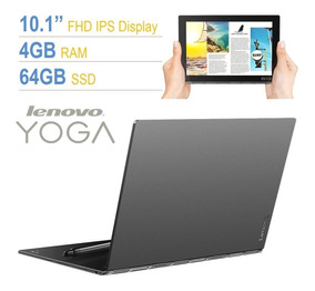 Lenovo Yoga Book 10 1 Touch Atom 1 44ghz, 4gb Ram, 64gb Ssd