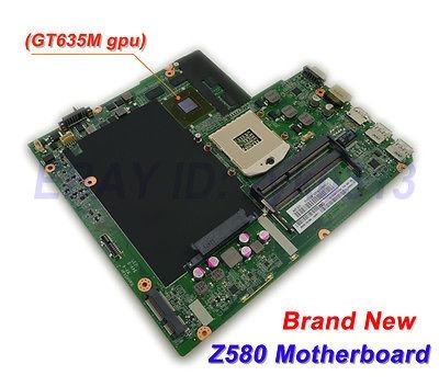lenovo z580 laptop motherboard, tarjeta madre dalz3amb8e0 c