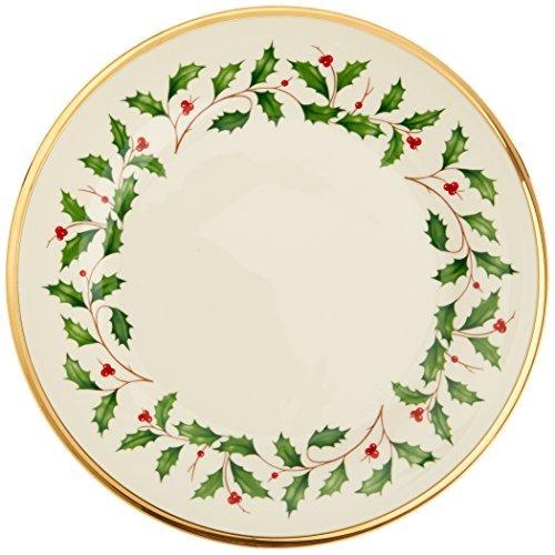 lenox holiday set de 6 platos de ensalada