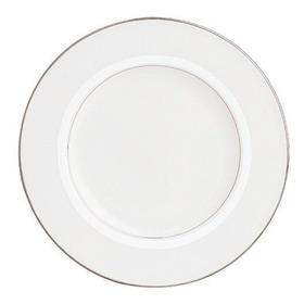 Lenox Tribeca Platino Con Banda De Porcelana China 9 Placa D