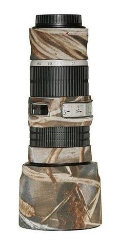 lenscoat lc702004m4 canon 70200is f  4 tapa del objetivo rea