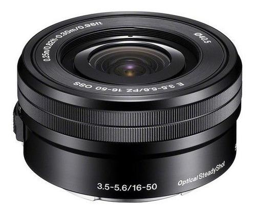 lente 16 - 50 mm lente do kit sony a6300