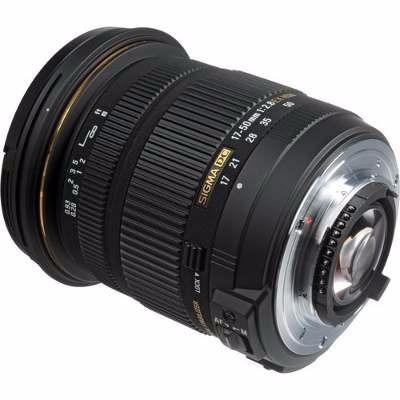 lente 17-50mm sigma f/2.8 ex dc os zoom montura nikon dslr