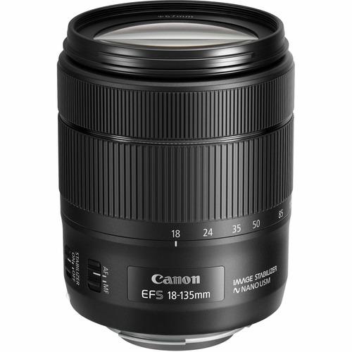 lente 18-135 canon 1:3.5-5.6 is usm estabilizador