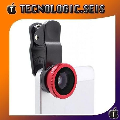 lente 3 en 1 universal para celulares y tablet