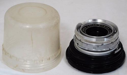 lente 35mm agfa ff4 ambigon para agfa silette