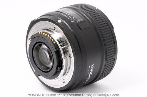 lente 50mm f1.8 nikon yongnuo