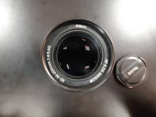 lente  55-200 nikkor af-s nikon dx