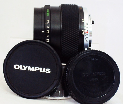 lente 55mm olympus om