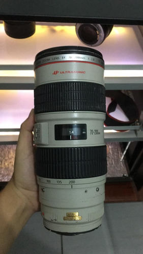 lente 70-200 2.8f canon usm