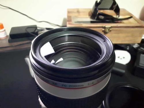 lente 70-200 f4 canon