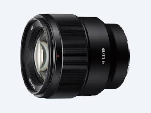 lente 85mm 1.8 sony
