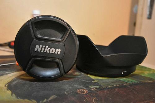 lente af-s dx nikkor 16-80mm f/2.8-4 + filtro uv tiffen 72mm