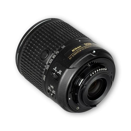 lente af-s dx nikkor 55-200mm f/4-5.6g ed vr il