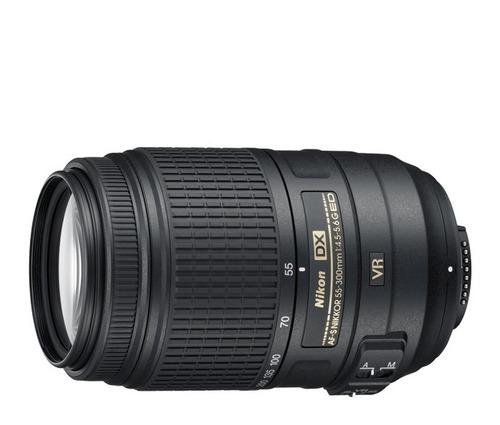 lente af-s dx nikkor 55-300mm f/4.5-5.6g ed vr