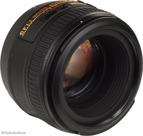 lente af-s nikon nikkor 50mm 1.4g nuevo original garantia