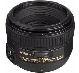 lente af-s nikon nikkor 50mm f/1.4g 1.4 g amplio diafragma