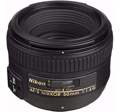 lente af-s nikon nikkor 50mm f/1.4g amplio diafragma 1.4 g