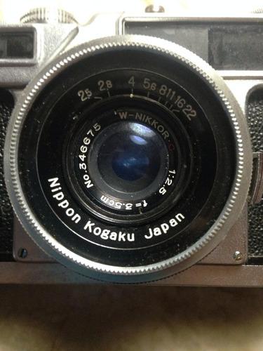 lente angular 35/2,5 nikkor rangefinder
