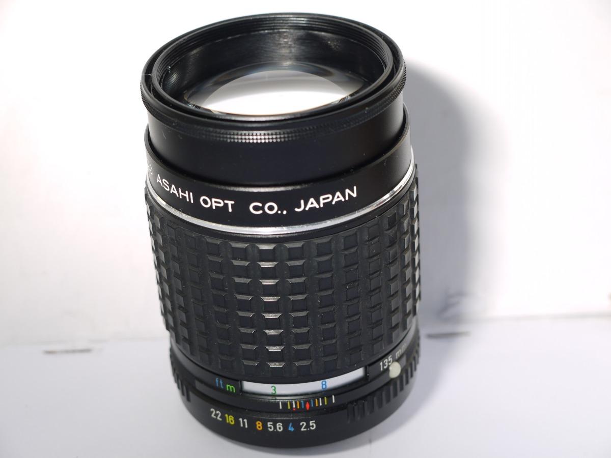 Lente Asahi Takumar 135mm F2 5 Bayonet Pk Canon Micro 4/3