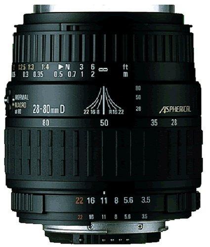 lente asféricamacro sigma 2880mm f3556 para cámara sonyaf