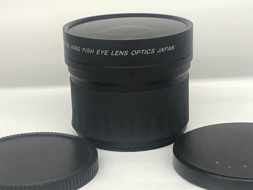 lente auxiliar king fish eye 0,21x 58mm.