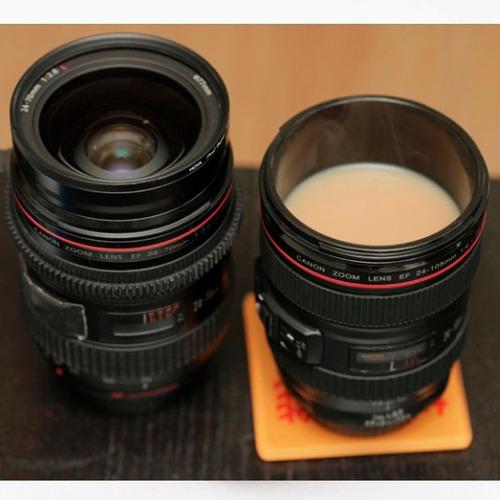 lente cámara canon