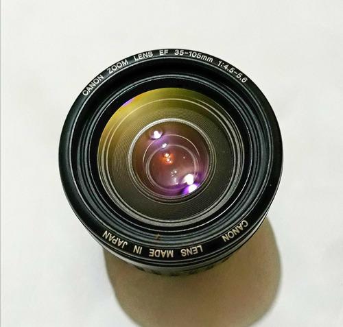 lente camara canon ef 35-105mm 1: 4.5-5.6