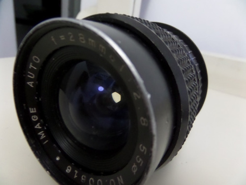 lente camara fotografica japones 28mm para canon eos