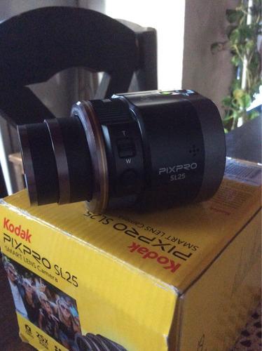 lente cámara kodak