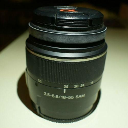 lente cámara sony 18-55mm