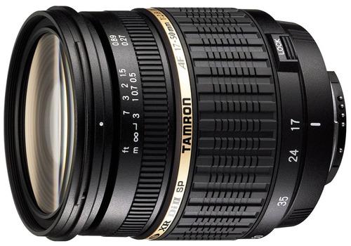 lente camara tamron sp auto focus 17-50mm f/2.8 xr di-ii ld
