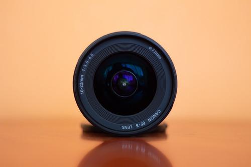 lente canon 10-22 mm 3.5 usm efs
