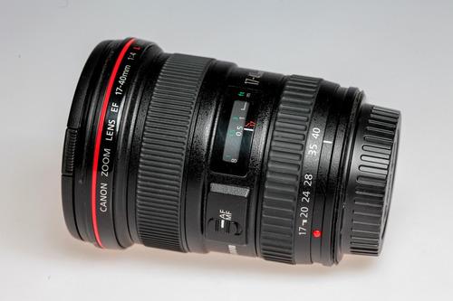 lente canon 17/40 f/4 l, se uso solo una vez impecable.
