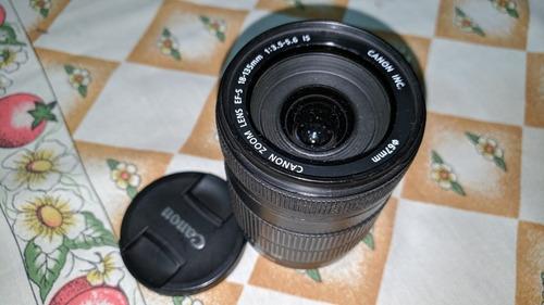 lente canon 18-135 is