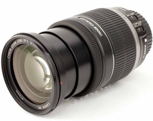 lente canon 18-200 ef-s f/3.5-5.6 is zoom t6i t5i 60d 50d