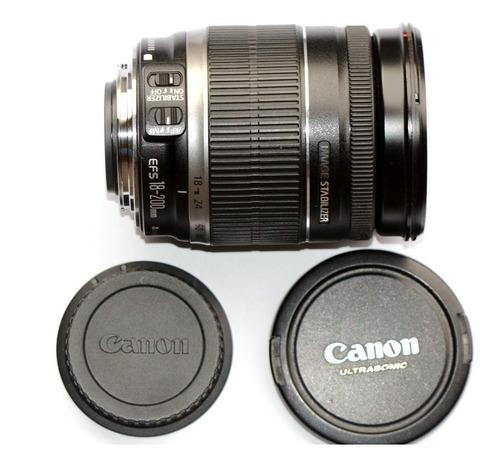 lente canon 18-200mm