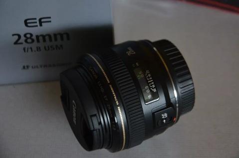 lente canon 28mm